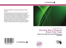 Buchcover von Slovakia Men's National Water Polo Team