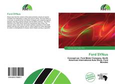Bookcover of Ford SYNus