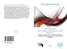 Capa do livro de Sir Gilbert Heathcote, 4th Baronet