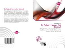 Capa do livro de Sir Robert Heron, 2nd Baronet