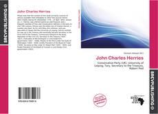Bookcover of John Charles Herries