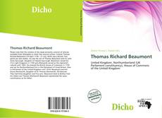 Bookcover of Thomas Richard Beaumont