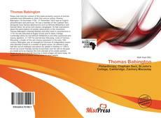 Borítókép a  Thomas Babington - hoz