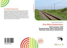 Portada del libro de Erie West Subdivision