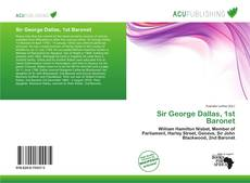 Bookcover of Sir George Dallas, 1st Baronet