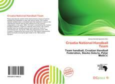 Portada del libro de Croatia National Handball Team