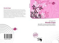 Bookcover of Honda Capa