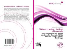 Couverture de William Lowther, 1st Earl of Lonsdale