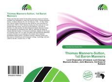 Borítókép a  Thomas Manners-Sutton, 1st Baron Manners - hoz
