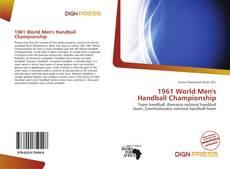 Portada del libro de 1961 World Men's Handball Championship