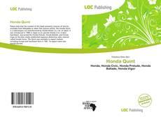 Bookcover of Honda Quint