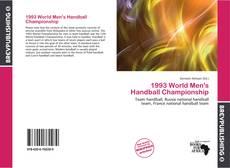 Portada del libro de 1993 World Men's Handball Championship