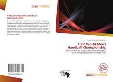 Portada del libro de 1986 World Men's Handball Championship