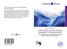 Portada del libro de 1993 Men's Junior World Handball Championship