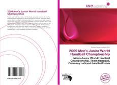 Portada del libro de 2009 Men's Junior World Handball Championship