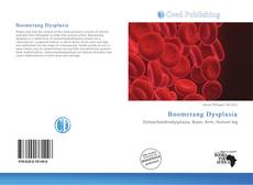 Bookcover of Boomerang Dysplasia