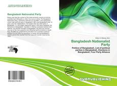 Bookcover of Bangladesh Nationalist Party