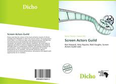 Buchcover von Screen Actors Guild