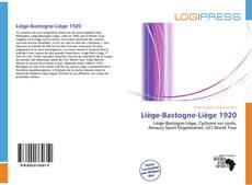 Copertina di Liège-Bastogne-Liège 1920