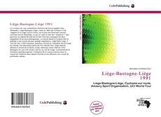 Copertina di Liège-Bastogne-Liège 1991