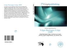 Bookcover of Liège-Bastogne-Liège 2000