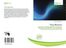 Bookcover of Titus Mulama