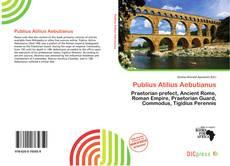 Bookcover of Publius Atilius Aebutianus