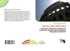 Обложка Sextus Julius Africanus