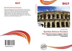 Bookcover of Quintus Anicius Faustus