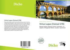 Virius Lupus (Consul 278) kitap kapağı