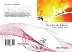Bookcover of Biometrics in Schools