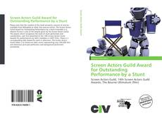Bookcover of Screen Actors Guild Award for Outstanding Performance by a Stunt