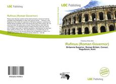 Bookcover of Rufinus (Roman Governor)