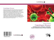 Bookcover of Copenhagen Disease