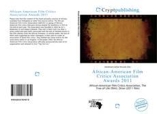 Capa do livro de African-American Film Critics Association Awards 2011