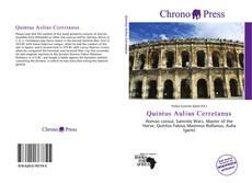 Portada del libro de Quintus Aulius Cerretanus
