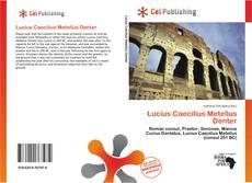 Lucius Caecilius Metellus Denter的封面