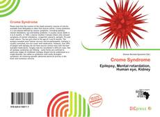 Bookcover of Crome Syndrome