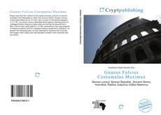 Bookcover of Gnaeus Fulvius Centumalus Maximus