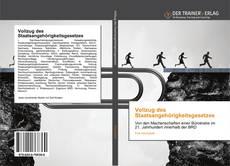 Capa do livro de Vollzug des Staatsangehörigkeitsgesetzes