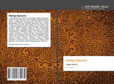 Bookcover of Heilige Sprache