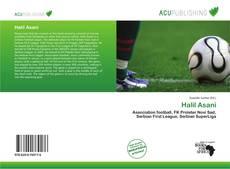 Halil Asani kitap kapağı