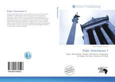 Bookcover of Pope Anastasius I