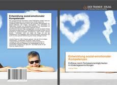Bookcover of Entwicklung sozial-emotionaler Kompetenzen