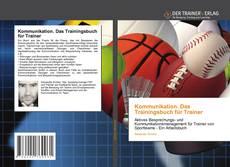 Обложка Kommunikation. Das Trainingsbuch für Trainer