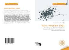 Couverture de Paris-Roubaix 1931