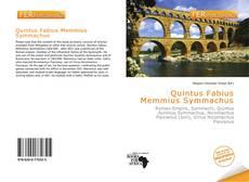 Buchcover von Quintus Fabius Memmius Symmachus