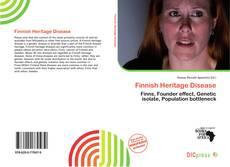 Обложка Finnish Heritage Disease