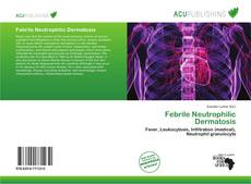 Copertina di Febrile Neutrophilic Dermatosis