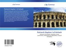 Capa do livro de Patriarch Stephen I of Antioch